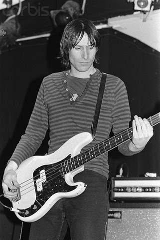 Fred Smith of Television Playing Bass Guitar